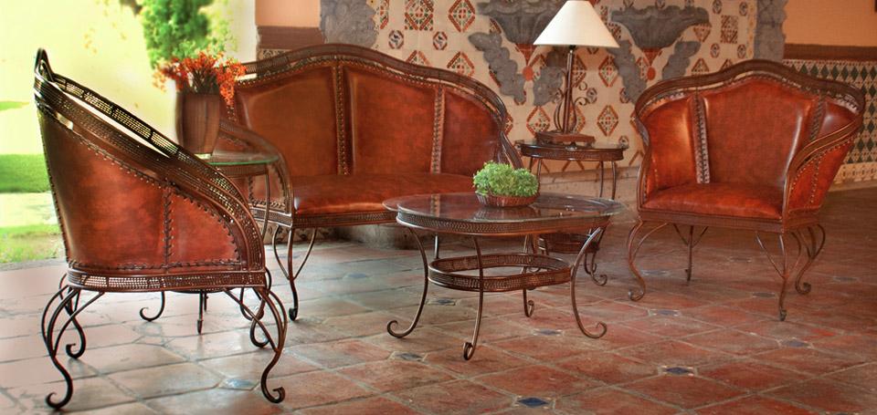 Encantador Muebles Tradicionales Silla De Cuero Patrón - Muebles ...